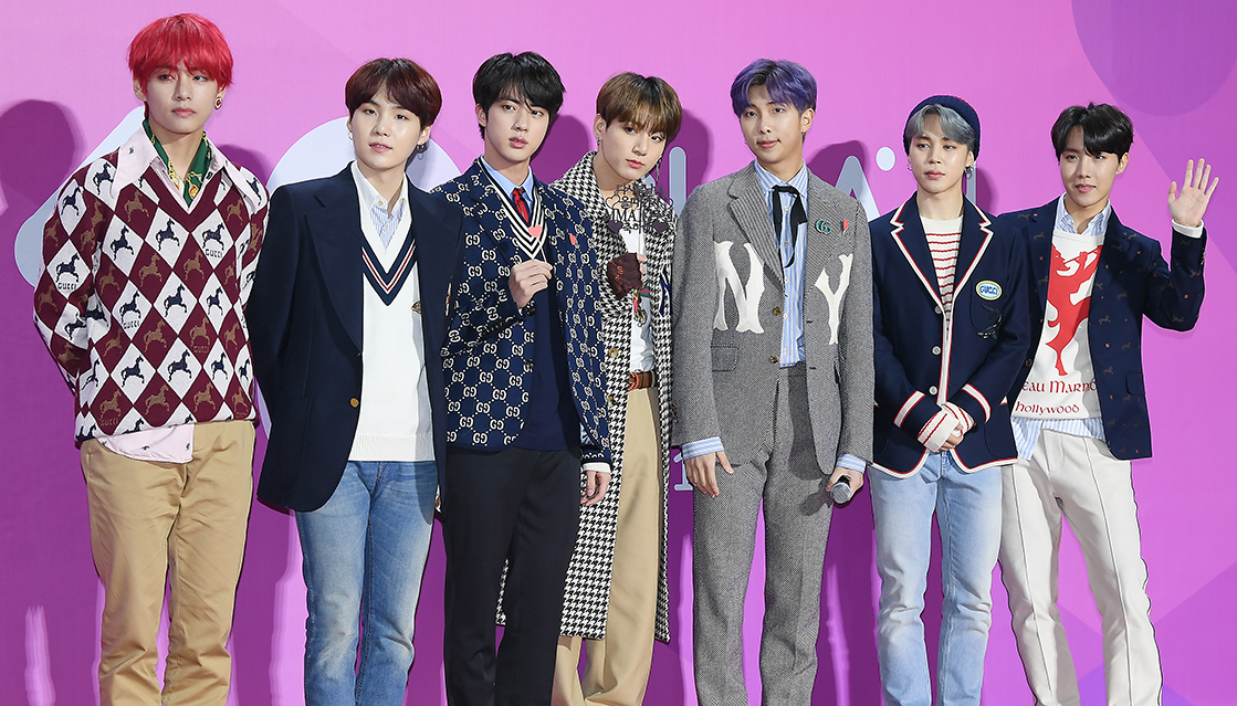 181201 BTS at the MelOn Music Awards
